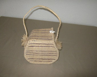 Hand Woven Purse from Micronesia.