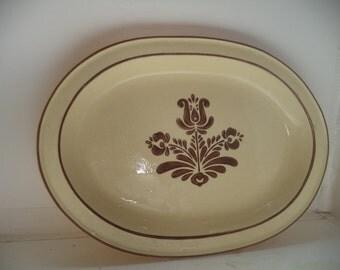 Vintage Pfaltzgraff Village Platter