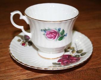 Royal Windsor Teacup and Saucer Fine Bone China England