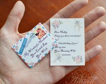 Love Letter! Editable mini letter & envelope