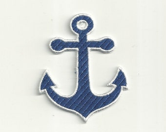 Anchor Patch, Any Color Combo! Custom Made! F34