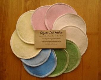 Organic Reusable Nursing / Breast Pads