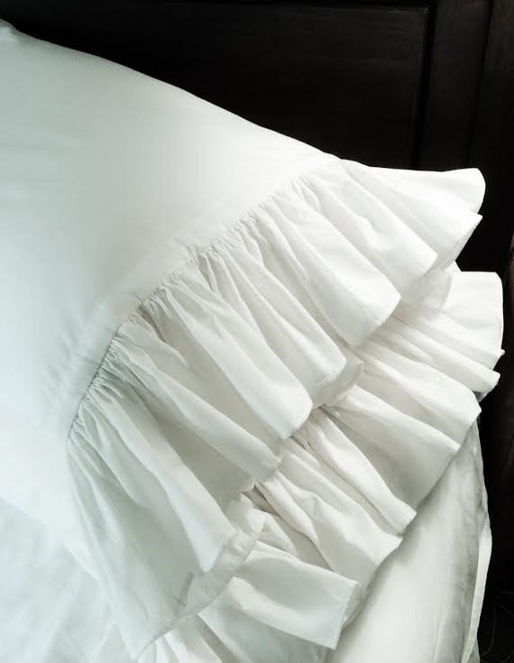 standard pillow case size with Set Of 2 Ruffled Cotton Pillowcases on Wholesale Pure White Cotton Hotel 21 60574839515 moreover Marvel Bedding Sets Sale also 301928242933 moreover Windsor Navy Ticking Stripe Duvet Cover as well Pink gold glittery stripes pillowcase 256899199865545593.