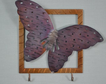 Butterfly (#2) Key Holder