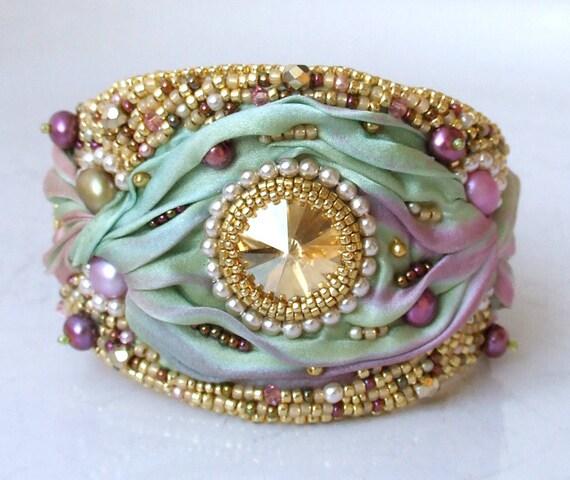 Tutorial Bead Embroidery Bracelet, Shibori Silk Cuff. Bvlgari Watches. 5 Stone Anniversary Band. Male Beads. Accented Diamond. Trim Rings. Bmw Ball Watches. Fishing Engagement Rings. Fine Gold Bracelet