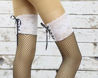 knee  Boot socks Leg warmer Chunky Holiday Christmas Gift ideas