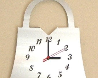 Handbag Clock Mirror - 2 Sizes Available