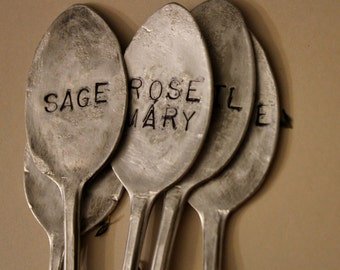 Herb Garden Spoon Markers - set of 5