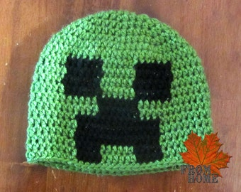 Exploding Creep Beanie - Made to Order Toddler-Adult