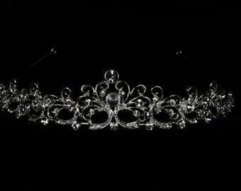 Wedding Tiara - Bridal Headpiece - Hope Bridal Tiara with Rhinestones - Wedding Headband - Bridal Accessories