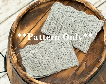 Boot Cuff Pattern Crochet boot cuff pattern crochet boot cuff crochet pattern leg warmer pattern crochet leg warmer pattern boot cuffs