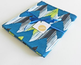 Tea Towel in Ikat River Design