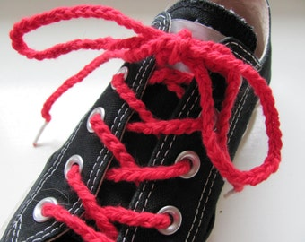 Bright Red Shoelaces