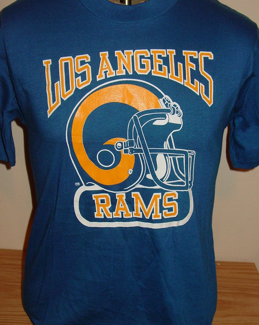 JERSEY NFL NEW ERA SUPPORTER TEE LOS ANGELES RAMS JERSEYS ... |Nfl Rams Clothing