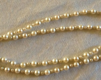 Mikimoto Gorgeous 1930s Pearl Necklace New Sale Price
