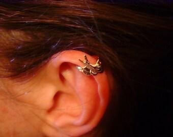 Ear Cuff Earring Swallow Ear Clip Cuff Earring  Ear Clip Non Pierced Ear Cuff Clip on Earring
