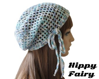 Crochet Hair Net : ... , spring beanie,Summer beanie, mesh hat,crochet ,hair net,summer hat