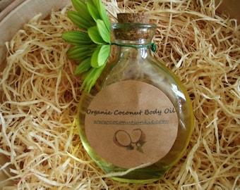 Sensual Organic Coconut Massage Oil
