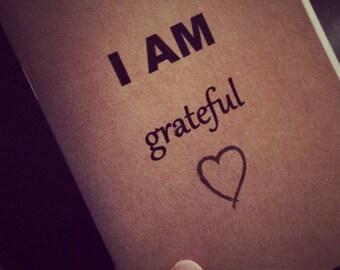 2 Hill Notebooks I AM Grateful KraftNotebooks/Cahiers, Moleskin