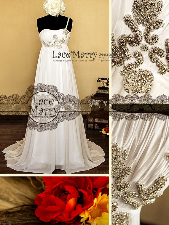 empire wedding dress