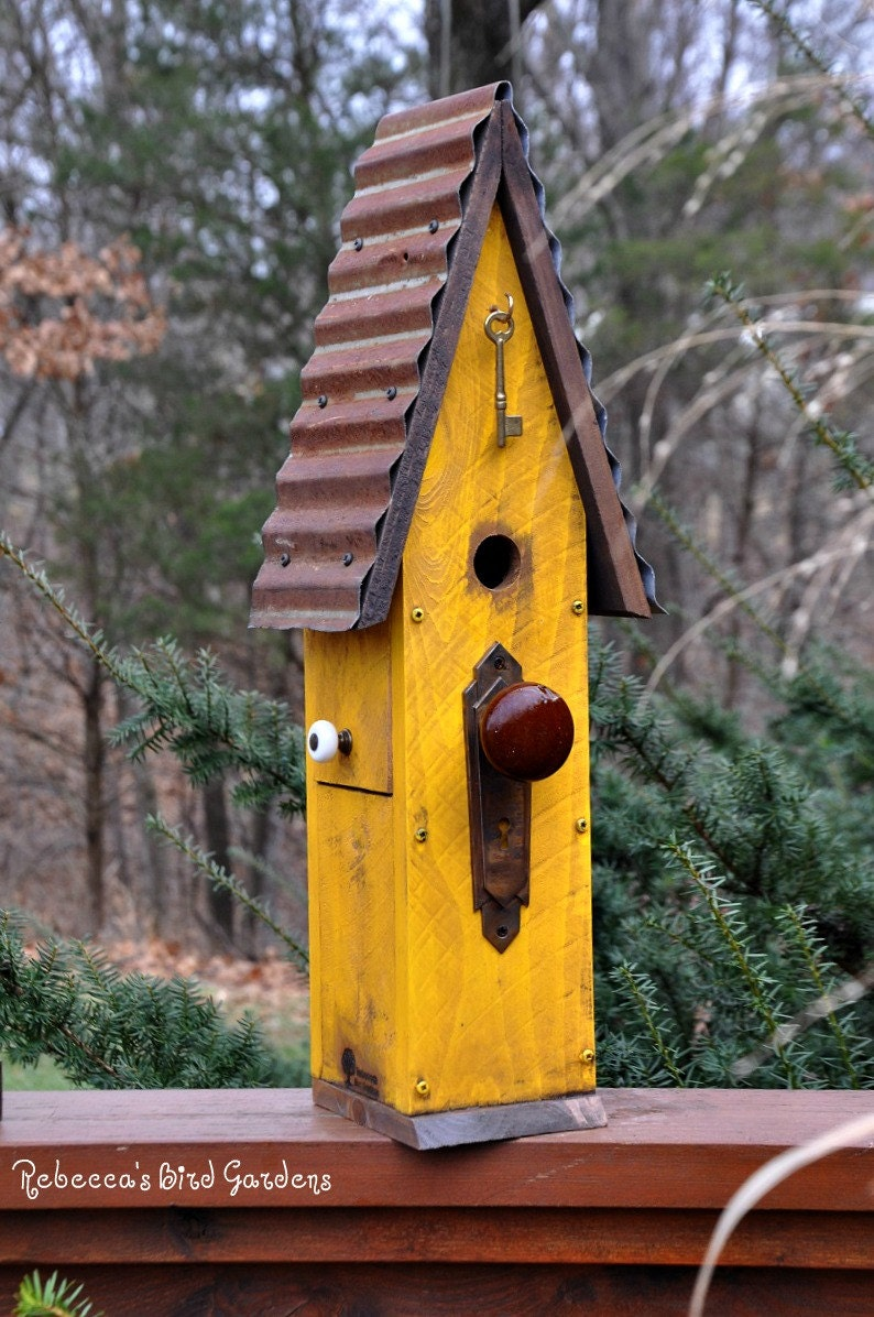 Rustic Birdhouse The Loft