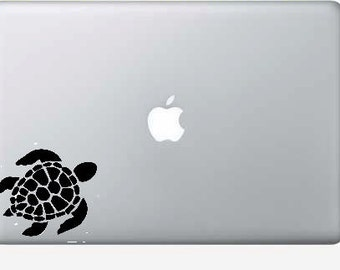 sea turtle macbook, computer, car vinyl decal