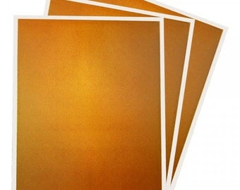 Inkedibles Premium Frosting DazzleSheets: 3 pack 8.5x11 (BRONZE SPARKLE)