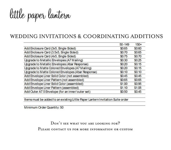Little Paper Lantern Printing Price List For Wedding