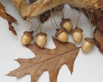 Unique Acorns Ornaments Related Items Etsy
