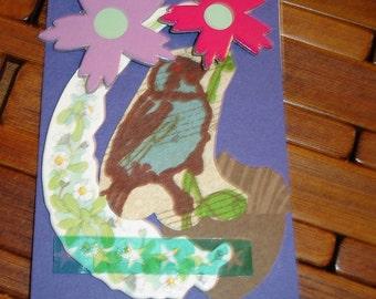 Bird 3 Original ACEO