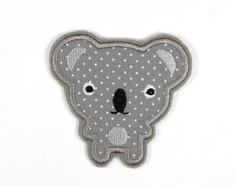 Patch bear Koala Helmut 8 x 8,5cm