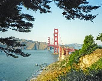 Golden Gate Bridge, San Francisco, Fine Art Photograph