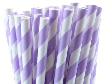 Express Shipping for Sophie-Lavender Paper Straws