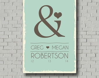 Monogram Guest Book Wedding Guest Book - Wedding Signs Wedding Canvas - Wedding Gift Wedding Keepsake Guest Book Personalized Wedding Poster