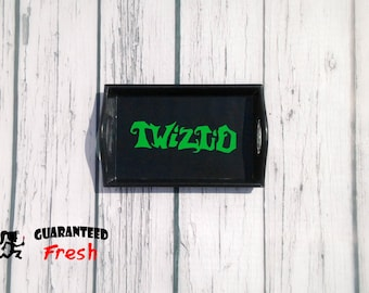 Twiztid wood rolling tray - Custom made to order - ICP Juggalette Juggalo