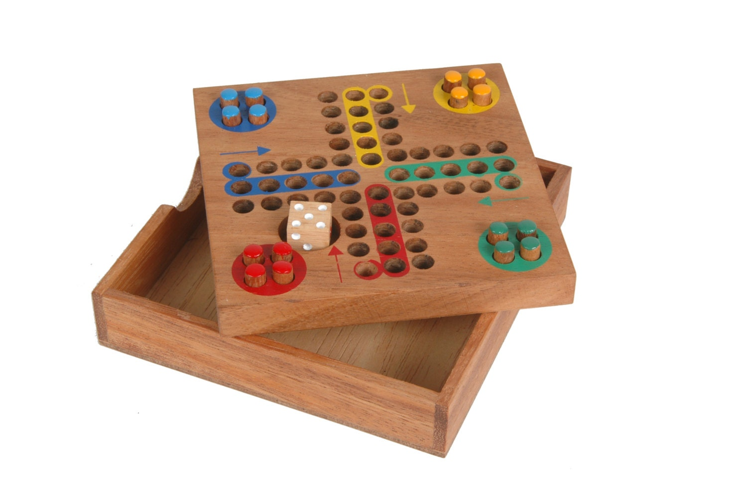 Ludo parcheesi game strategy wood board family