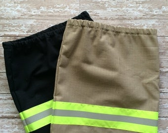 Firefighter toddler  Girl Skirt ,Halloween Costume