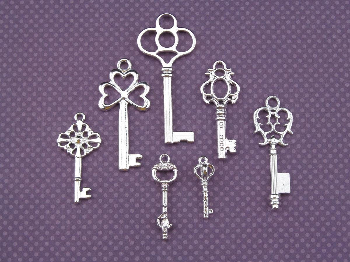 vintage style key set - photo #3