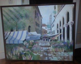 A Lee Reynolds Large Painting