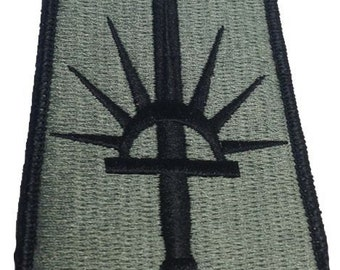 53rd Troop Command Patch in Foliage Green