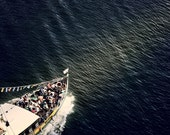 People boat on the river in Porto, Portugal. Europe.Oporto Fine art photography.Home Decor.Portugal.Etsy Wall Art. Vila Nova de Gaia