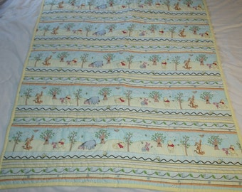 Baby Quilt #2 Lazy Days with Winnie the Pooh and Friends
