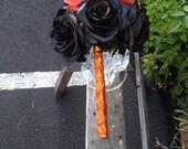 Halloween brides maid bouquet