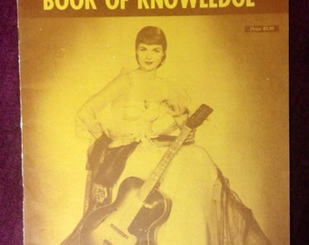 Vintage Music Book - 1955 - Guitarists' Book Of Knowledge