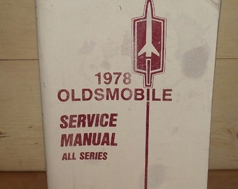 1978 Oldsmobile Service Manual