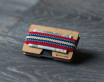 Front pocket wallet, credit card holder, men's and women's wallet, slim minimalist, coin wallet, keys wallet, N wallet, Elephant Wallet