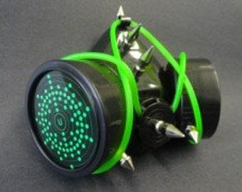 Respirator Mask Green System Respirator