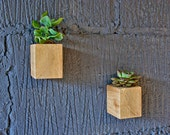X2 Wooden Wall Planters