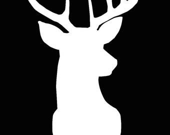 Deer Cameo Silhouette File