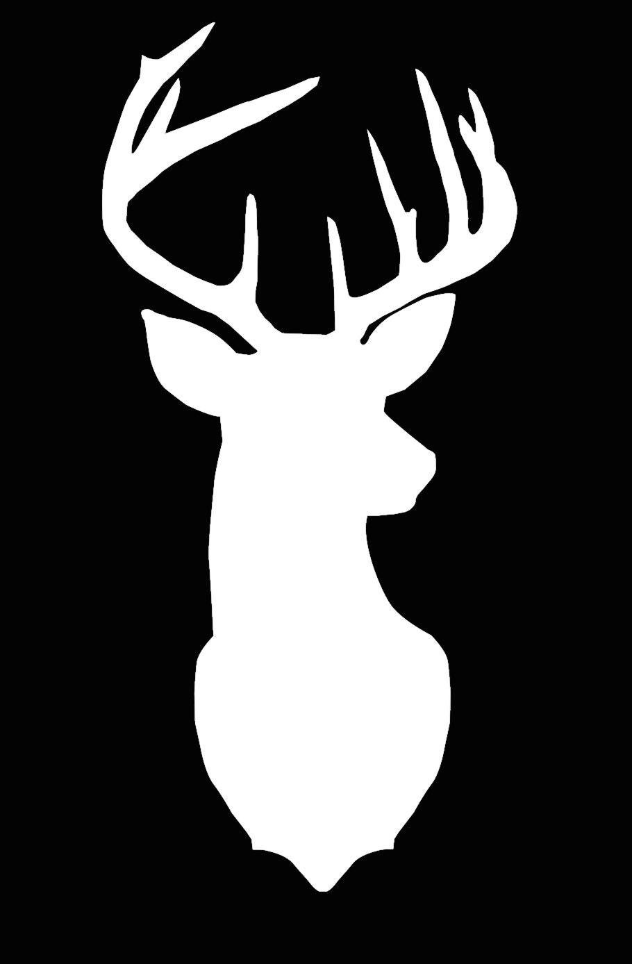 Mesmerizing image inside printable deer head